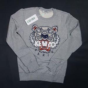 sweatshirt kenzo  gray